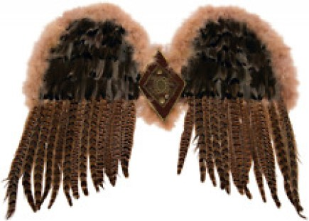 Forum Novelties Women's Exotic Feather Wings