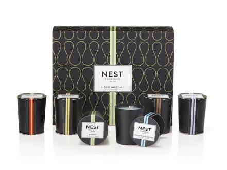 NEST Fragrances Luxury Mini Votive Candle Set