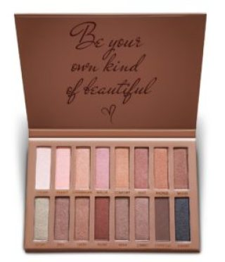 Best Pro Eyeshadow Palette Makeup - Matte + Shimmer 16 Colors - Highly Pigmented - Professional Nudes Warm Natural Bronze Neutral Smoky Cosmetic Eye Shadows - Lamora Exposed