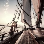 Sail boat traveling To New Zealand In 9 Days