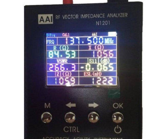 N1201sa Uv Rf Vector Impedantie Ant Swr Antenne Analyzer Meter Tester 140mhz