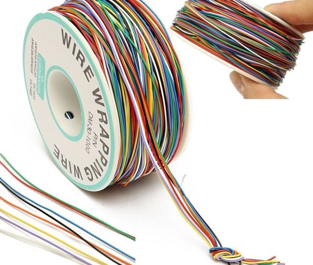 P N B Awg Tin Plated Copper 8 Wire Colored Insulation Test Wrapping