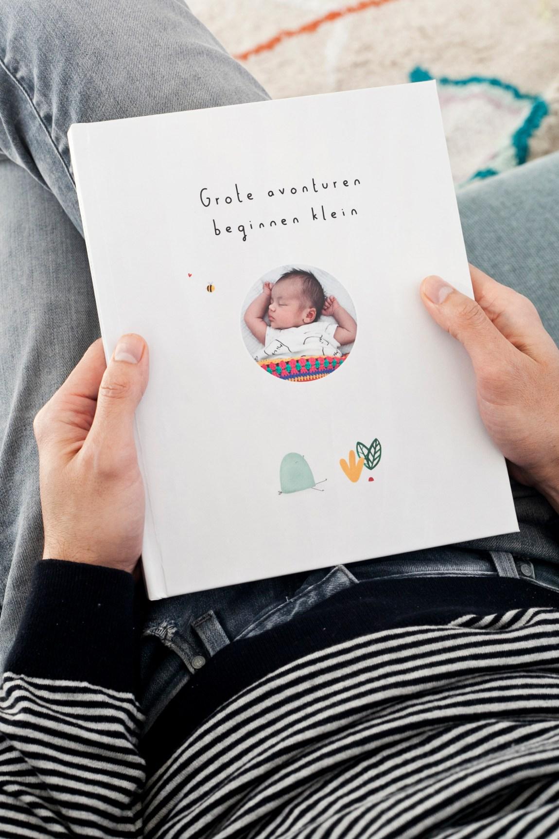 Een babyboek maken met Kroost