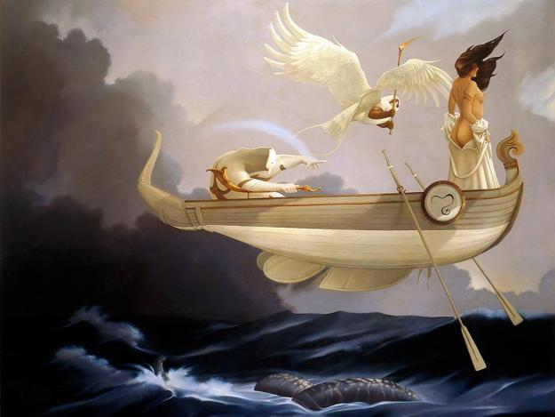 Returning Home, courtesy of Michael Parkes