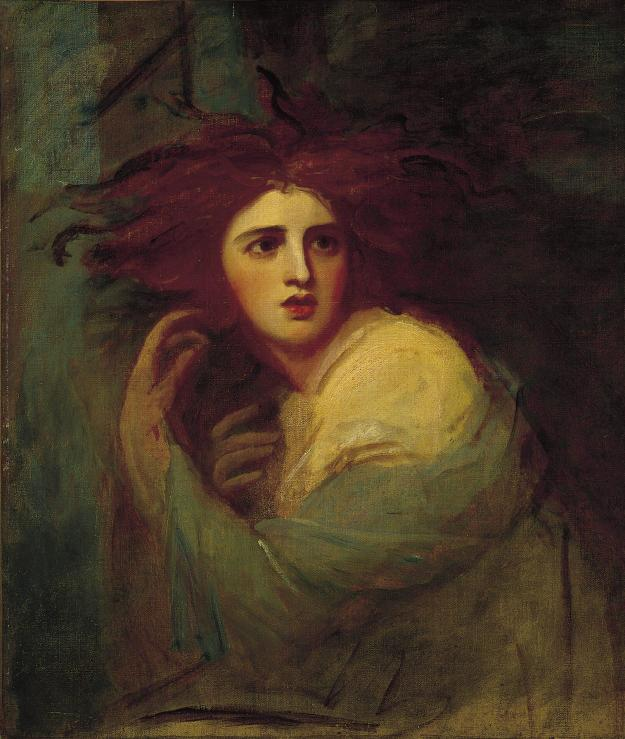 Lady George Hamilton as Medea by George Romney
