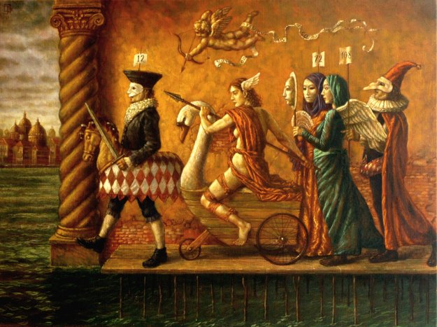 The Festival of Venus by Jake Baddeley.