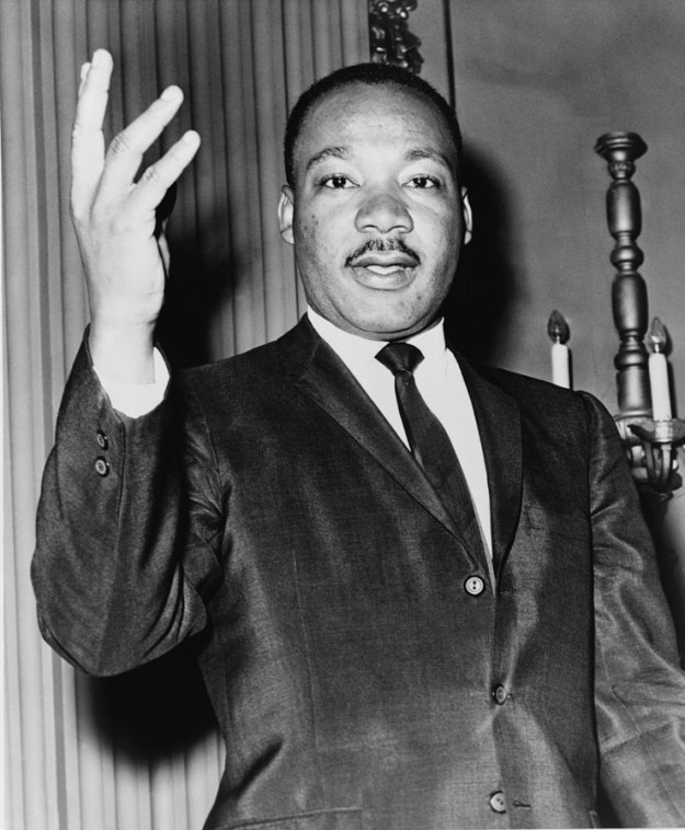 Reverend Martin Luther King, Jr. via Wikimedia Commons.