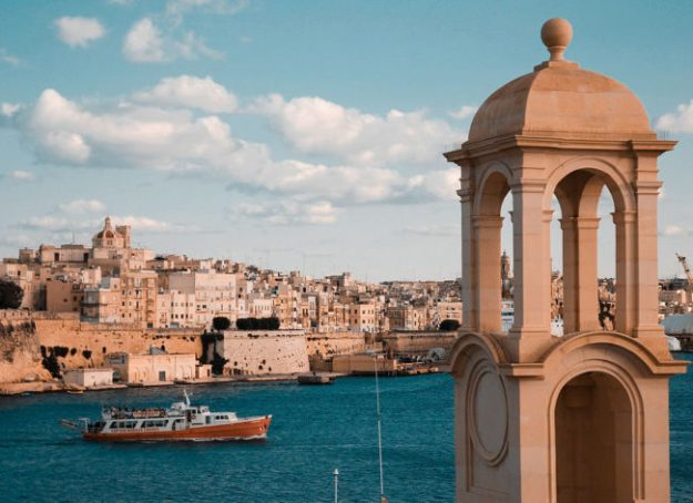 Valletta, Malta. Image via Wikimedia Commons.