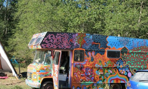 Possibly The Greatest Psychedelic Bus