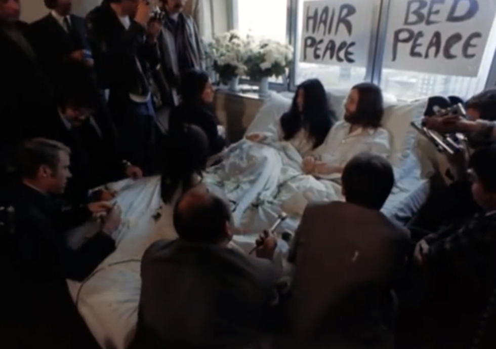 BED PEACE – Starring Yoko Ono and John Lennon