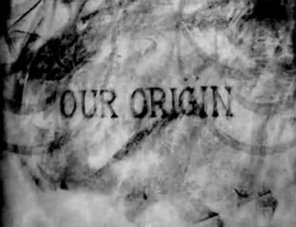 A still from Din of Celestial Birds (2006) A film by E. Elias Merhige. Black and white, sound, 16mm, 14 mins.