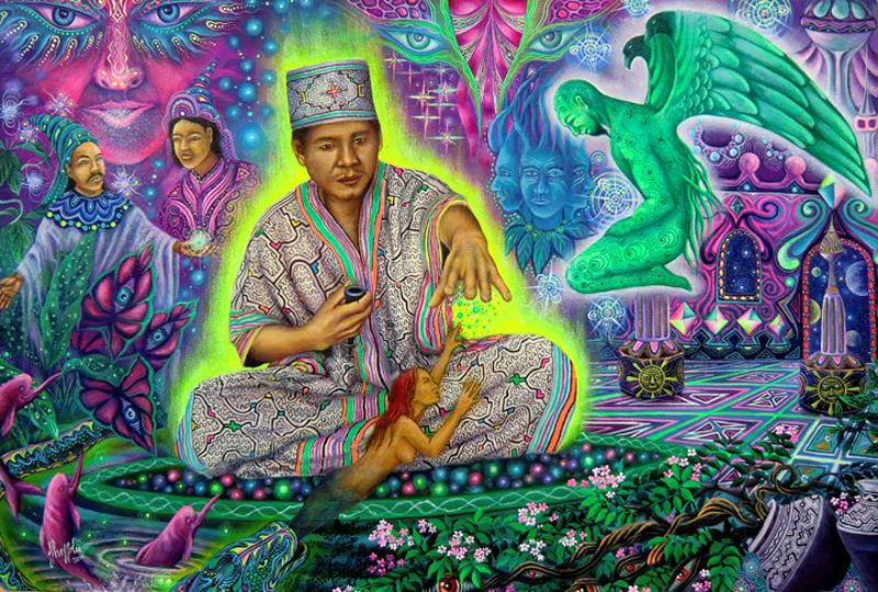 The Third Eye Magazine_Pablo Amaringo_Peru-Ayahuasca Visions-12