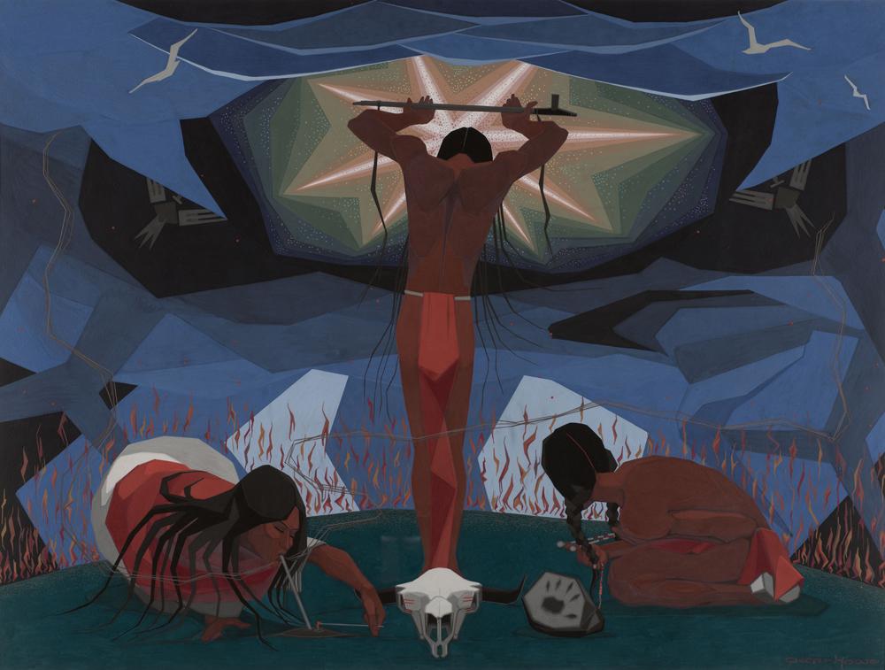 The Third Eye Magazine_Plain Indians-Exhibition_Metropolitan Museum art- Calling on Wakan Tanka