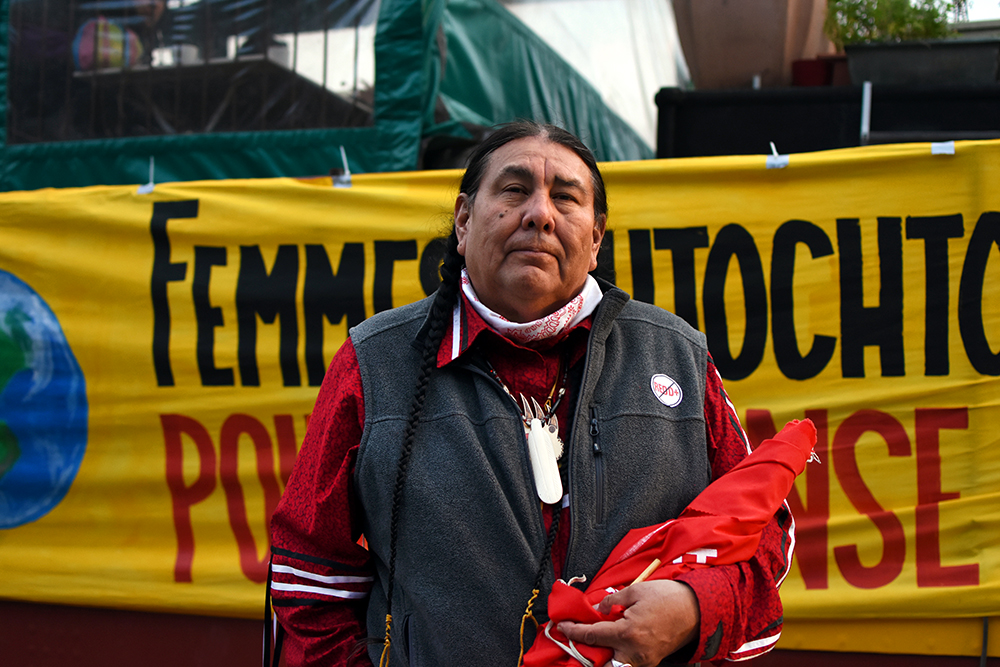 The Third Eye Magazine_Photography Sophie Pinchetti Copyright 2015-Tom Goldtooth-dakota_dine-minnesota-indigenous_environmental network-cop21-paris-01