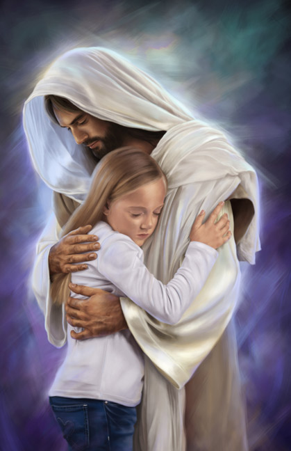 Image result for jesus comforter