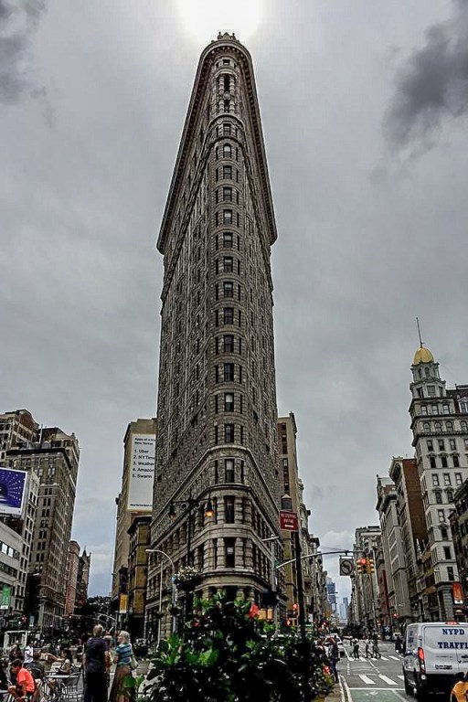 solo backpacking New York City - Flat Iron