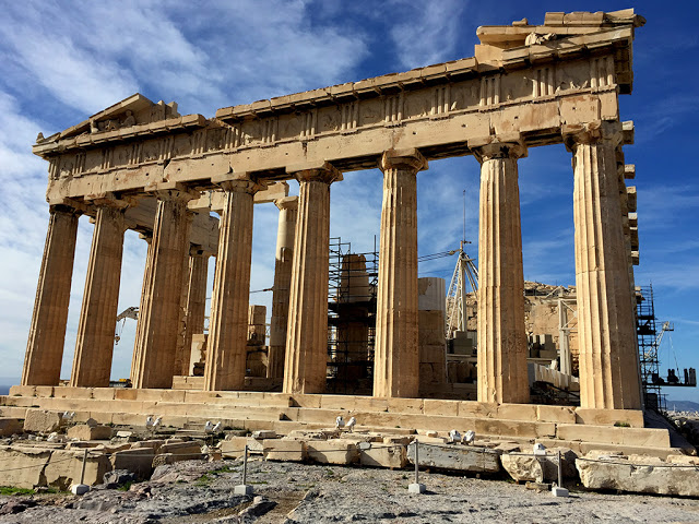 Solo Backpacking in Europe: Athens - Ancient and Modern