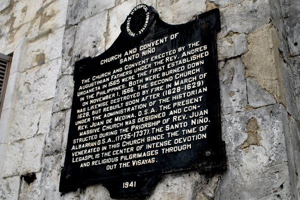 Cebu-Bohol Budget Itinerary - Sto. Nino Basilica