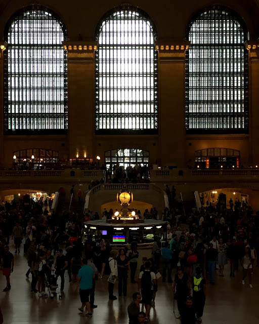 solo backpacking New York City - Grand Central
