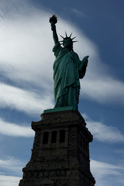 solo backpacking New York City - Liberty