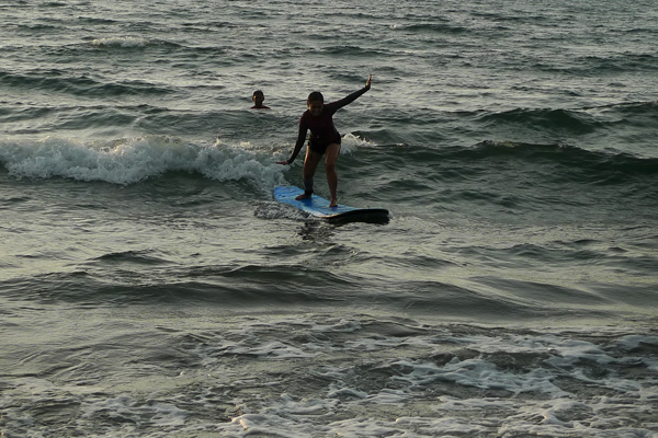 Surfing in La Union - San Juan Surf Resort