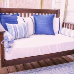 Diy Crib Mattress Front Porch Swing For Under 150 Thrifty Pineapple