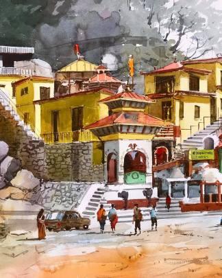 siddha baba temple at palpa Nepal