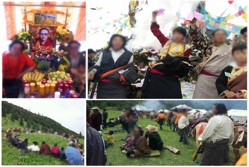 ... Tibetan spiritual teachers. They also prayed for a peaceful resolution