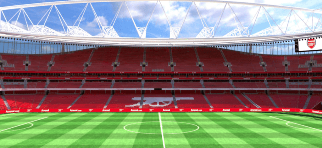 Check out Emirates Stadium in 3D courtesy of PACIFA
