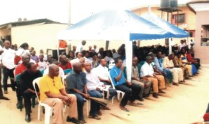 Cross section of participants during the APC Sensitisation Rally at Oro-Obasiorlu Town Hall, Mile 3, Diobu, Port Harcourt last Sunday.