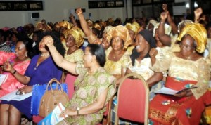 Participants at the Eastern Delta Women's Convention in Port Harcourt last Wednesday. Photo: NAN