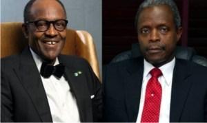 President Muhammadu Buhari and Vice President Yemi Osinbanjo