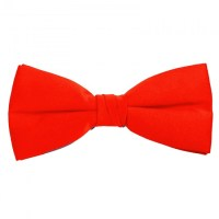 Bright Red Bow Ties - Pre-Tied with an adjustable band ...