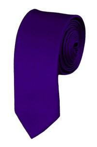 Skinny dark purple ties - Satin - Mens Neckties ...