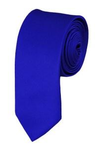 Skinny royal blue ties - Satin - Mens Neckties - Wholesale ...