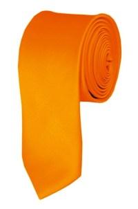 Skinny orange ties - Satin - Mens Neckties - Wholesale ...