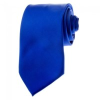 Royal Blue Neckties Solid Color Ties - Stanard Adult Size ...