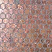 Copper Penny Mosaic -- mosaic Tile, at The Tilery: Your ...