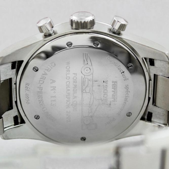 Girard Perregaux 4956 Preowned Ferrari Chronograph F1 World Champion