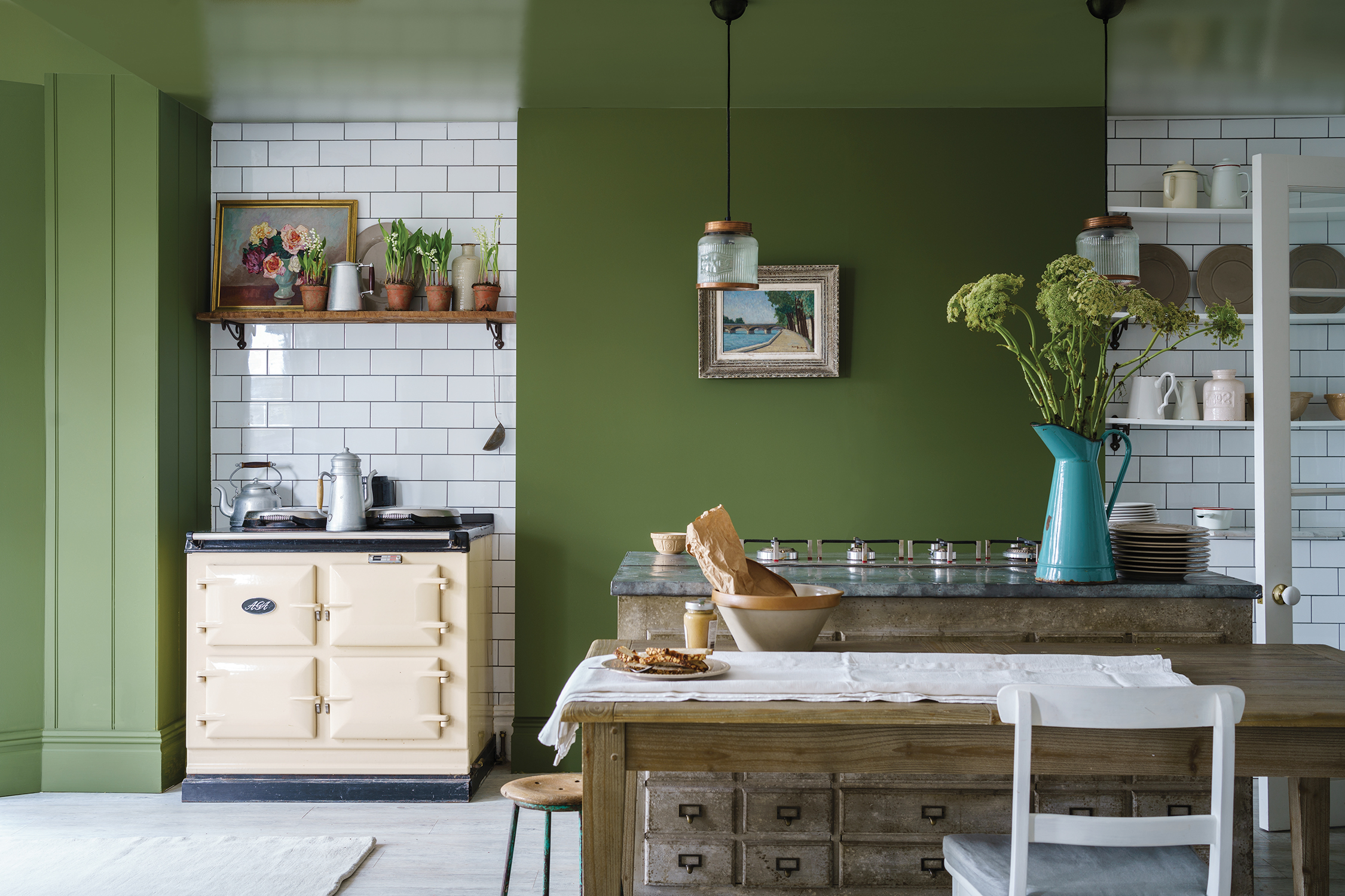 The Best Green Interiors From Paints To Sofas Home The Sunday Times