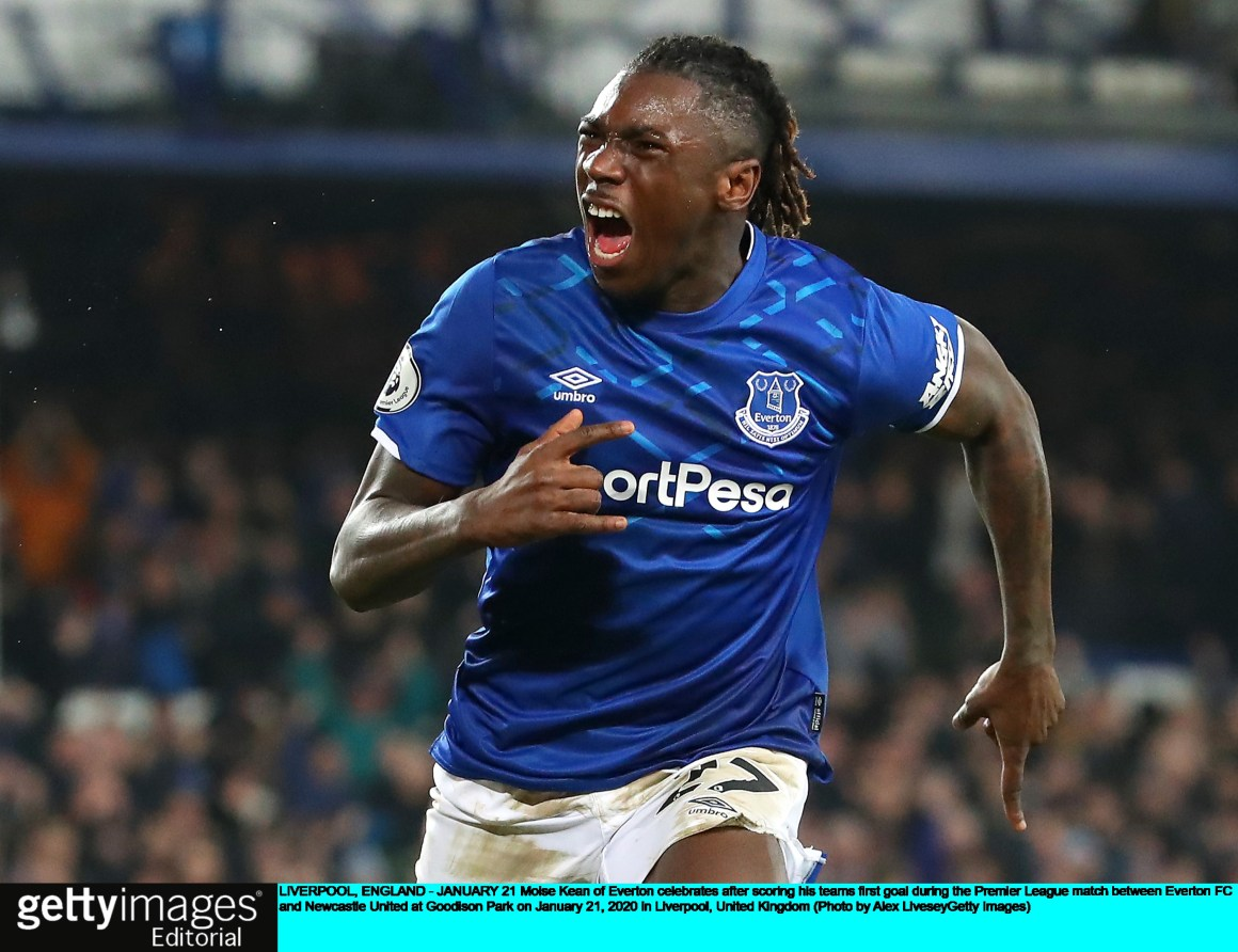 Everton striker Moise Kean faces £100,000 fine after defying lockdown to  host raunchy party | Sport | The Sunday Times