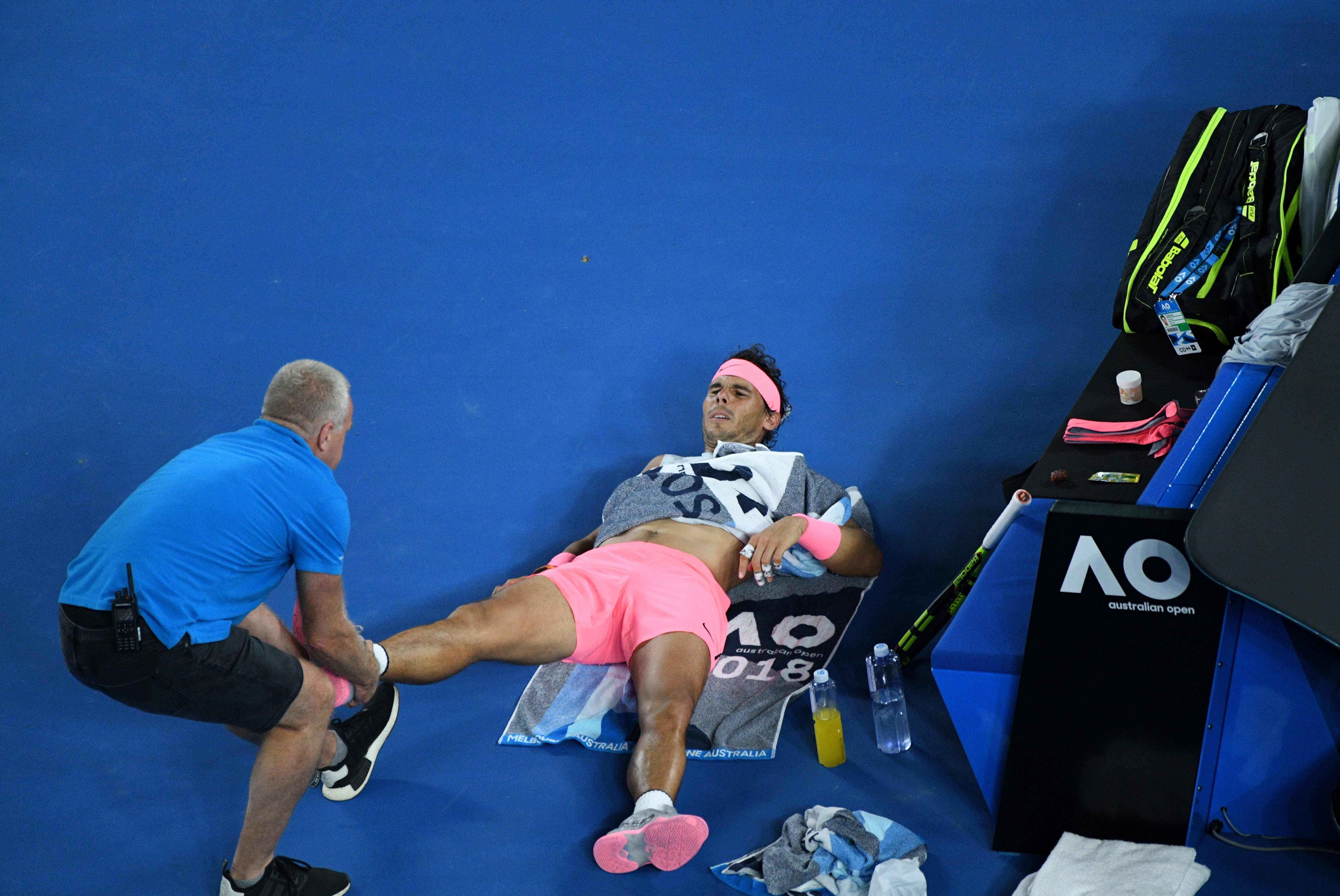 Rafael Nadal retires hurt at the Australian Open and calls for action on player welfare | Sport | The Times