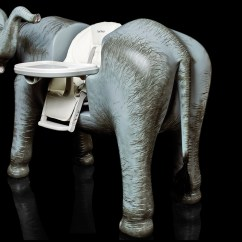 Elephant High Chair Card Table Chairs 2 Super Rich Rush To Wrexham For World S Most Pricy Furniture News Yours 80 000 An Including A Trunk With Speaker And