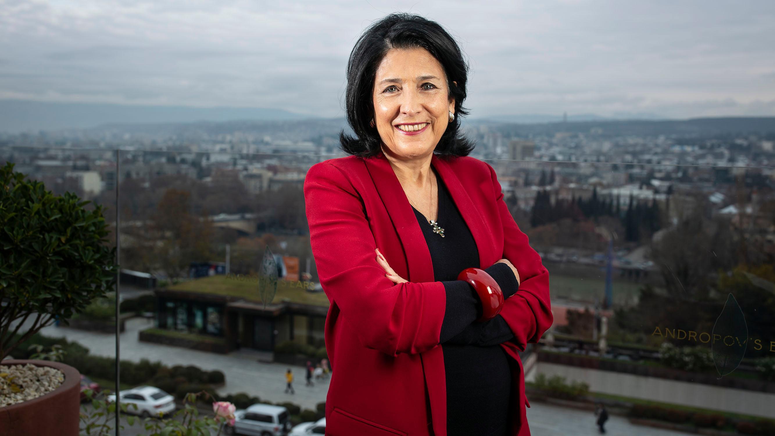 Salome Zurabishvili Georgia S First Woman President Vows