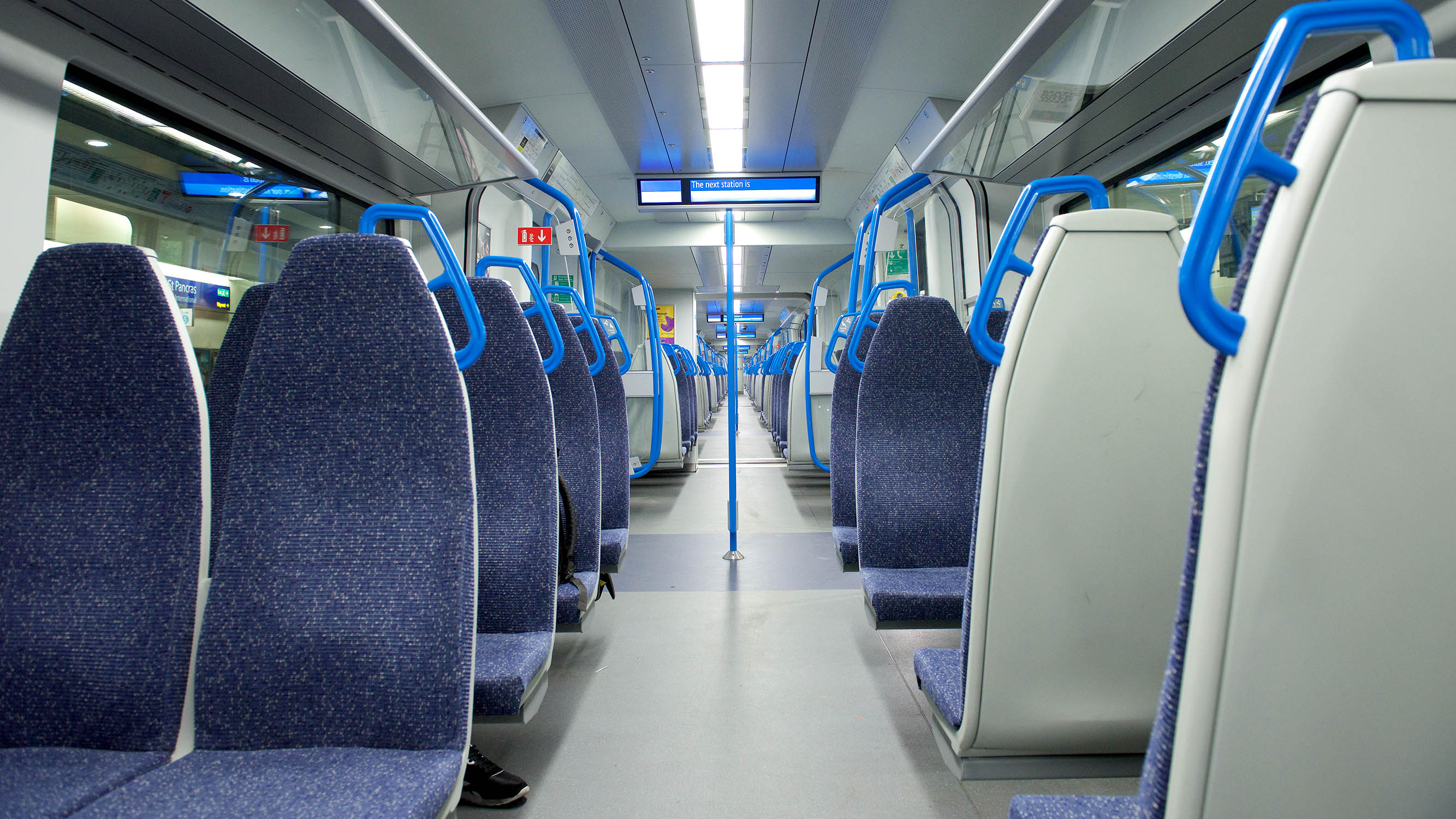 Thameslink passengers left in pain by trains concrete