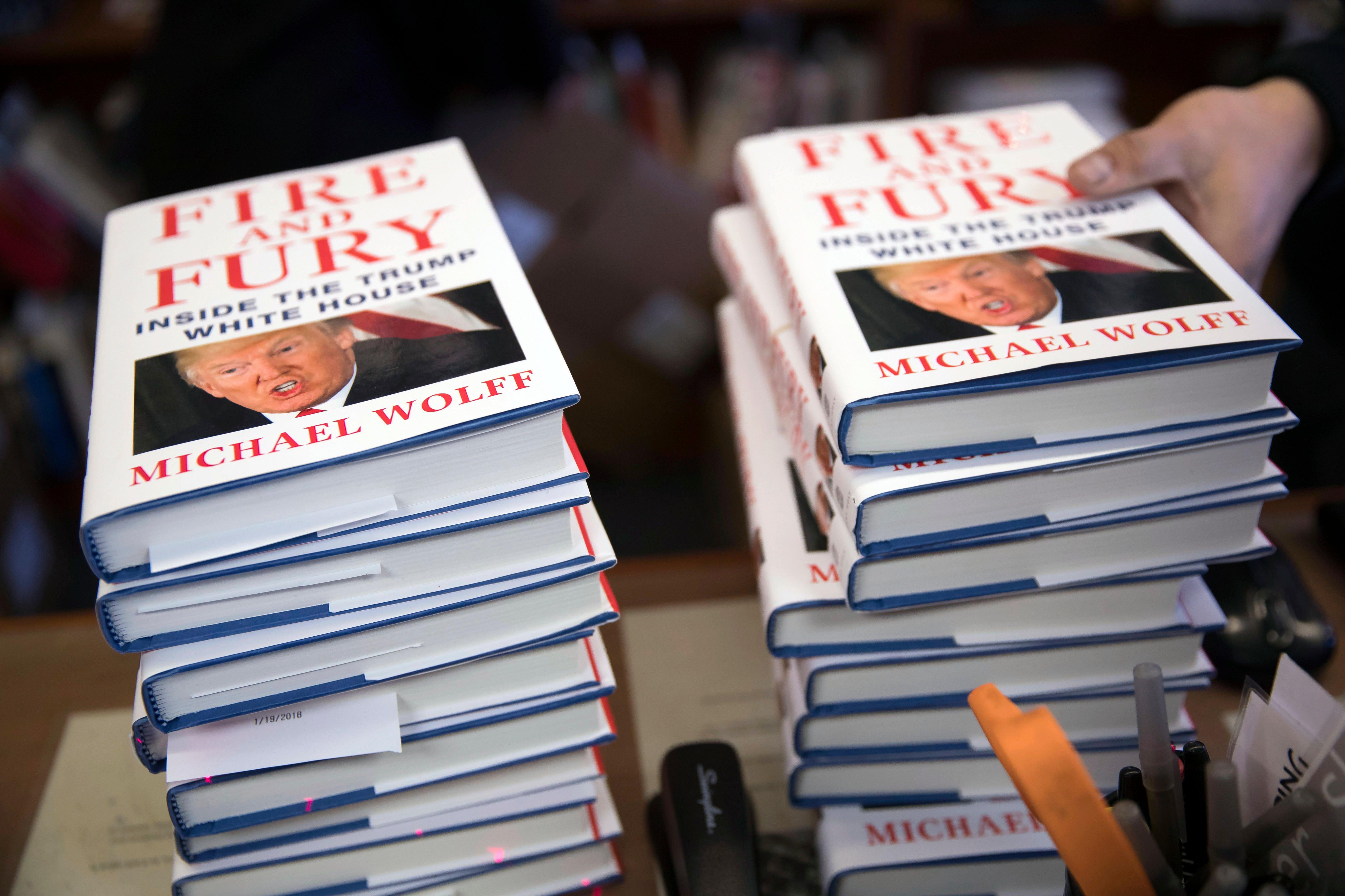 Michael Wolff Book Trump Team Think He's Unfit For Office Claims