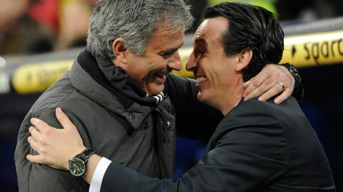 Image result for emery mourinho