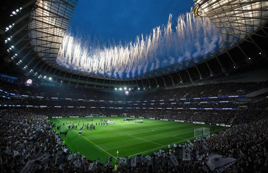 Tottenham Hotspur's new stadium is a grand ground with a ...