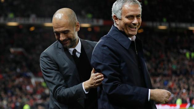 Image result for pep mourinho