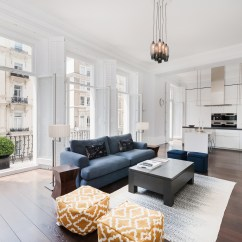 Layout Open Plan Kitchen Living Room Images Of Simple Decor The New That Families Want Now Bricks In South Kensington Southwest London This Four Bedroom Flat Has An